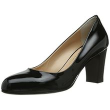 Evita Shoes Pumps geschlossen, Damen Pumps, Schwarz (Schwarz), 35 EU (2.5 Damen UK)