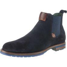 Galizio Torresi Chelsea Boots dunkelblau Herren