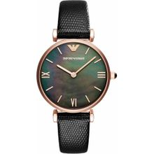 Emporio Armani Armbanduhr rosegold / schwarz