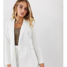 Missguided - Maßgeschneiderter Blazer in Weiß, Kombiteil - Weiß