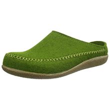 Haflinger Credo, Unisex-Erwachsene Pantoffeln, Grün (Grasgrün 36), 45 EU
