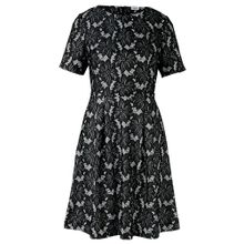 Heine Kleid grau / schwarz
