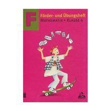 Buch - Förder- und Übungsheft Mathematik: Klasse 6, EURO