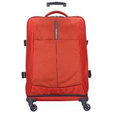 SAMSONITE 4Mation Spinner 4-Rollen Reisetasche 67 cm dunkelgrau / rot