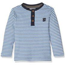 Noppies Jungen Langarmshirt B Tee LS Harwich STR, Blau (Petrol C160), 104