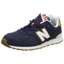 New Balance Unisex-Kinder Gc574v1g Sneaker, Blau (Blue), 37.5 EU