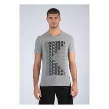 Kaporal T-Shirt Mavid mit markenspezifischem Aufdruck T-Shirts grau/schwarz Herren