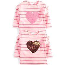 Langarmshirt  pink Mädchen Baby