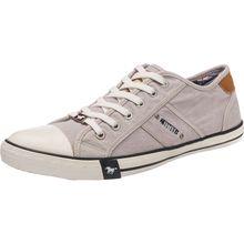 MUSTANG Sneakers Low hellgrau Herren