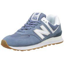 New Balance Damen Wl574EB Sneaker, Blau (Light Porcelain Blue), 37 EU