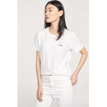 CLOSED T-Shirt mit Print white