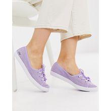 Lacoste - Lila Sneaker zum Hineinschlüpfen - Violett