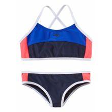KangaROOS Bustier-Bikini navy / hellrot