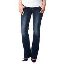 Noppies Damen Boot-Cut Umstands Jeans OTB bootcut Jade, Gr. 34 (Herstellergröße: 27), Blau (Dark Stone Wash C296)