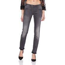G-STAR Damen Skinny Jeanshose Lynn Zip Mid Wmn, Gr. W27/L34, Grau (medium aged 071)