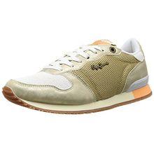 Pepe Jeans London Gable Gold, Damen Sneakers, Gold (099GOLD), 41 EU