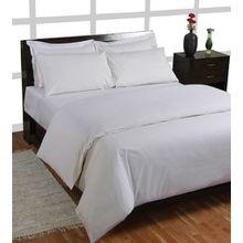 Homescapes Spannbettlaken weiß Spannbetttuch 150 x 200 cm 100% reine ägyptische Baumwolle Fadendichte 200