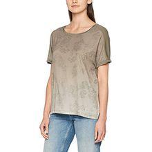 Brax Damen T-Shirt 37-5287, Grün (Soft Khaki 36), 40