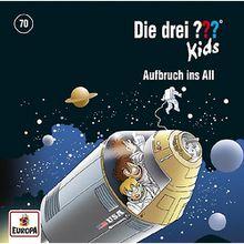 Die drei ??? Kids 70: Aufbruch ins All, 1 Audio-CD Hörbuch