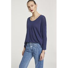 CLOSED Leinenshirt indigo blue