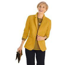 Casual Looks Fleece-Blazer mit Reverskragen