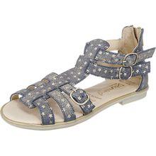 Sandalen , Weite S für schmale Füße blau Mädchen Kinder