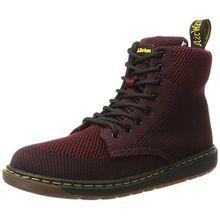 Dr. Martens Unisex-Kinder Malky Y Oxblood/Black Knit Stiefel, Mehrfarbig (Oxblood/Black), 38 EU