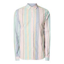 Modern Fit Freizeithemd aus Oxford mit Streifenmuster