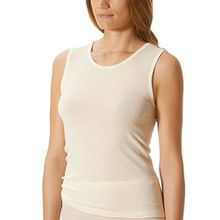 Mey Basics Primera Damen Tops breiter Träger Weiß 42