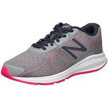 New Balance Unisex-Kinder Vazee Rush v2 Sneakers, Mehrfarbig (Grey/Pink), 36 EU