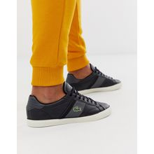 Lacoste - Fairlead - Sneaker aus schwarzem Leder - Schwarz