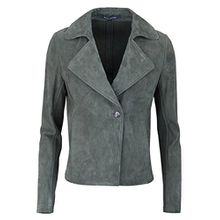 Marc O'Polo Damen Jacke 702703373035, Smaragd Grey 941, 42