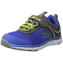 Lico Jungen Jump Vs Sneaker, Blau (Blau/Anthrazit/Lemon), 31 EU