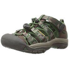 Keen Unisex-Kinder Newport H2 Sandalen Trekking-& Wanderschuhe, Braun (Cascade Brown Kamo Cascade Brown Kamo), 34 EU
