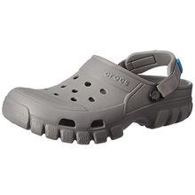 crocs Offroad Sport Clog, Unisex - Erwachsene Clogs, Grau (Smoke/Charcoal), 41/42 EU