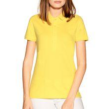 Benetton Poloshirt in gelb für Damen