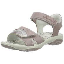 Primigi Mädchen PBR 7596 Offene Sandalen mit Keilabsatz, Pink (Lilla/Cipria), 27 EU