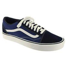 Vans Old Skool Lite Plus, Unisex-Erwachsene Sneakers, Blau (Suede/Canvas/Navy/White), 41 EU