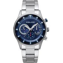 POLICE Uhren dunkelblau / silber