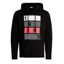 JACK & JONES Bedruckter Sweatshirt Herren Schwarz