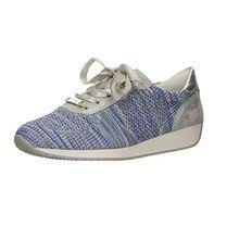 ara Damen 48 Sneaker, Grau (Aqua-Multi, Silber), 38 EU