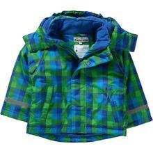 PLAYSHOES Skijacke blau / grün