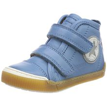 Bisgaard Unisex-Kinder Klettschuhe Hohe Sneaker, Blau (Sky Blue), 31 EU