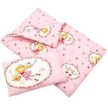 Bierbaum 2215_01 Wohnen Prinzessin Lillifee, Renforce-Kinder LizenzBettwäsche 100 x 135 cm, rosa