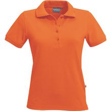 "HAKRO Damen Polo-Shirt ""Classic"" - 110 - orange - Größe: XL"
