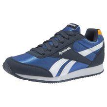 REEBOK Sneaker 'Royal Cljog' navy / royalblau / hellbraun / weiß