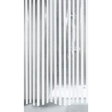Kleine Wolke 5193100305 Duschvorhang Noa, 180 x 200 cm, weiß