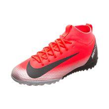 Nike Performance Mercurial Superfly VI CR7 Academy TF Fußballschuh Kinder rot