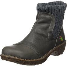 El Naturalista Damen Ne23 Soft Grain Yggdrasil Chelsea Boots, Grau (Grafito), 38 EU