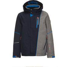 Skijacke YOAN  dunkelblau Jungen Kinder